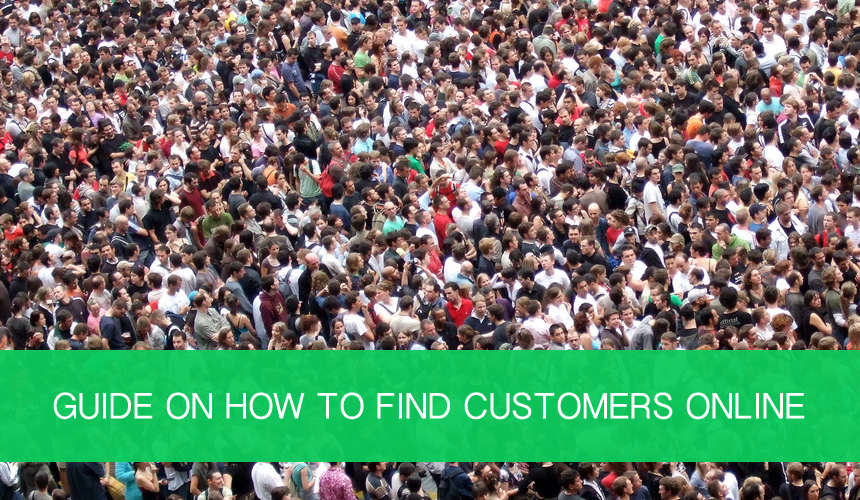 Find customers online